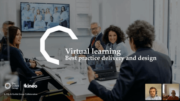 Virtual learning - best practice delivery and design - April 22nd
